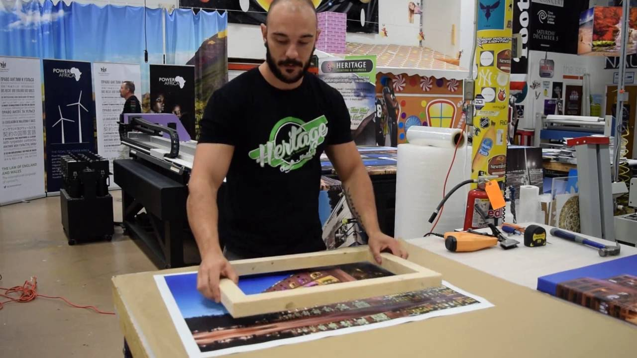 Canvas Printing Work