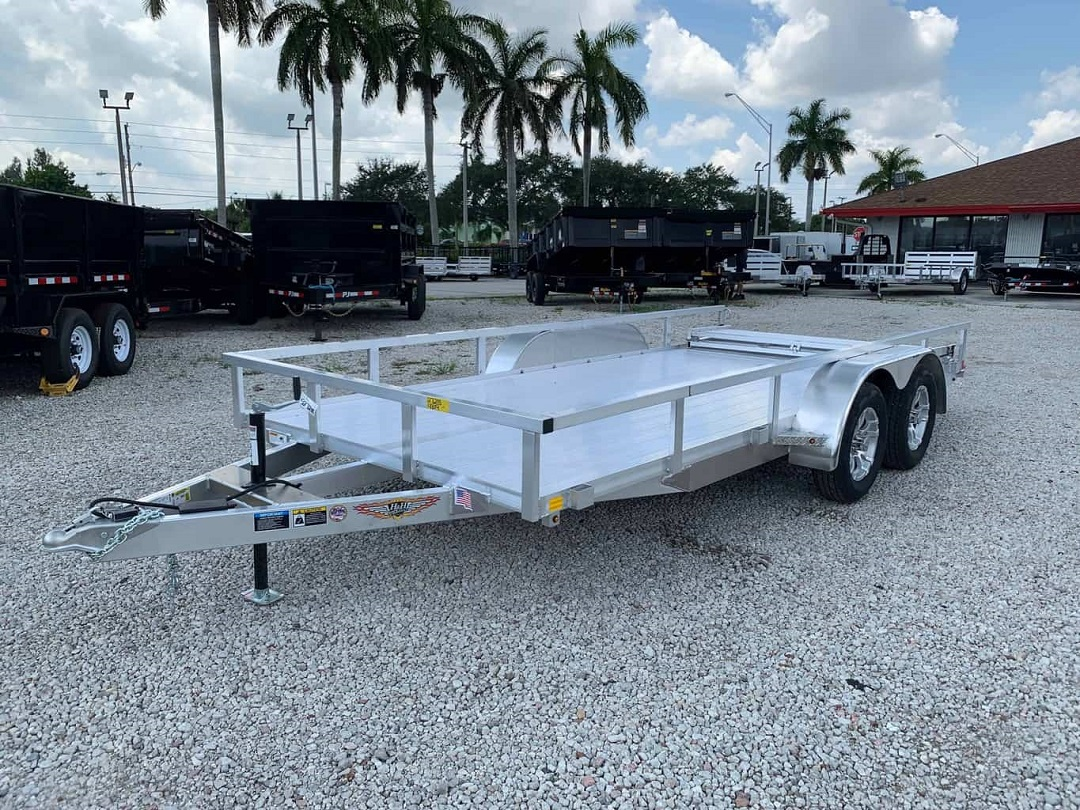 numerous types of trailers