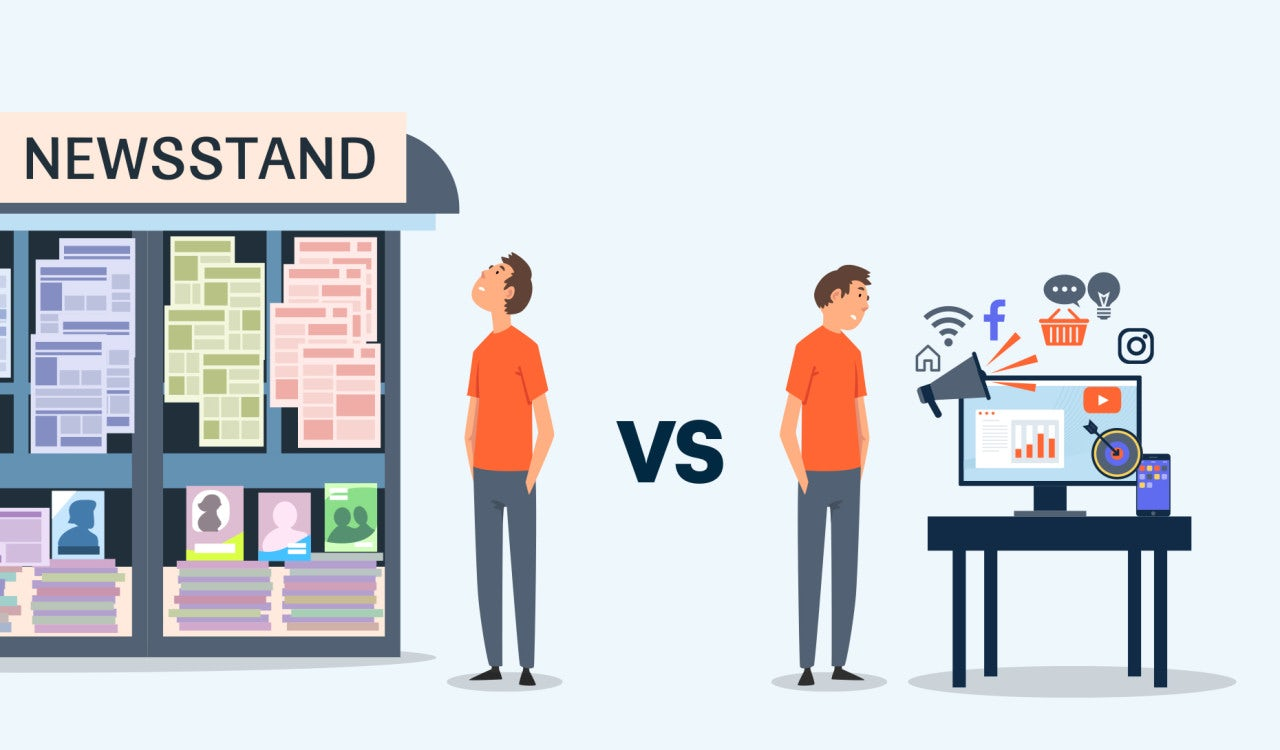 Traditional Versus. Internet Article Promotion