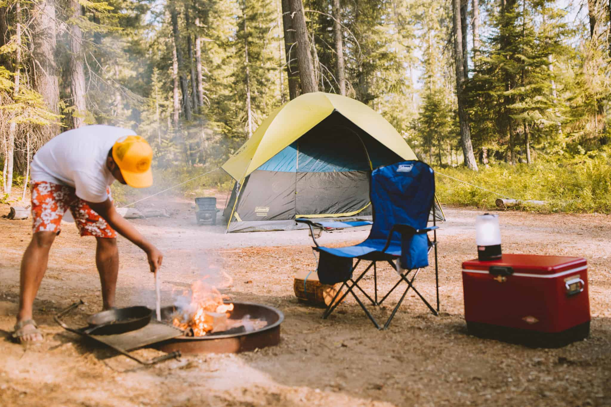 Coleman Camping Project