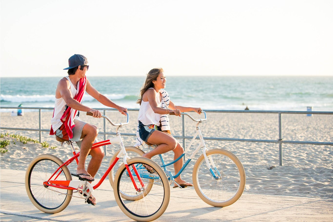 Cruisers and professional bicycles