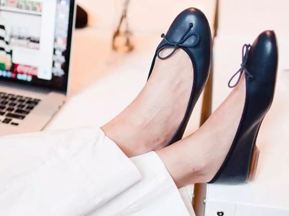 Flats a woman's best friend: