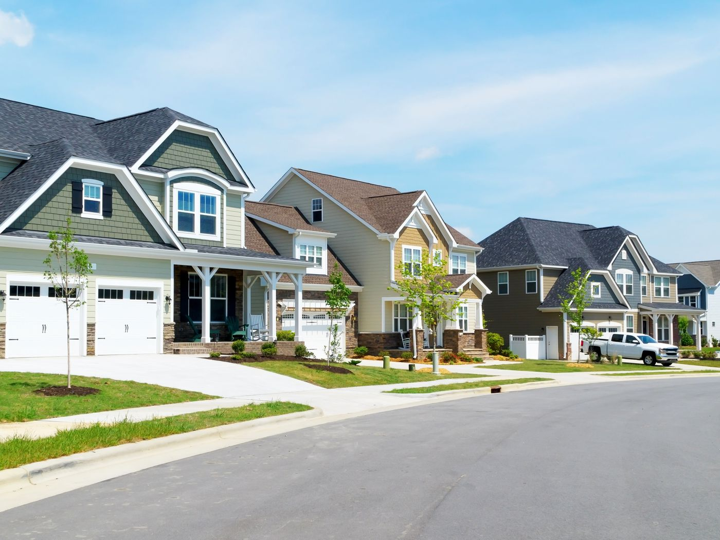 New houses go longer