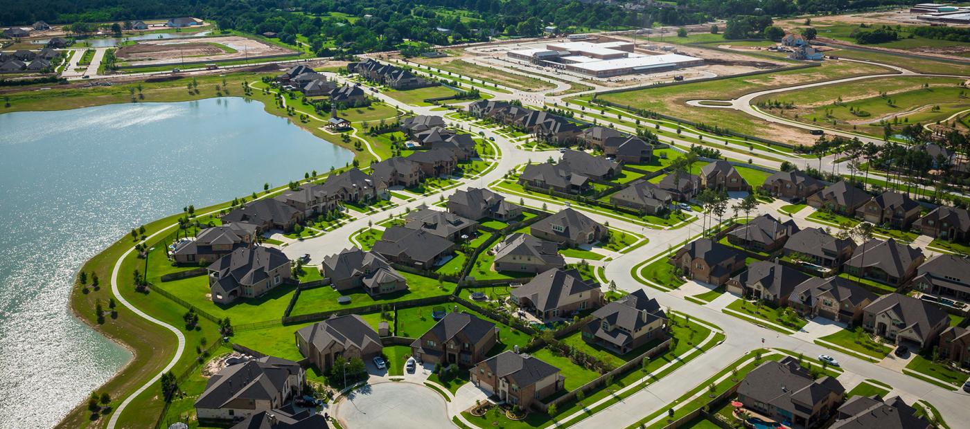 The new neighborhoods