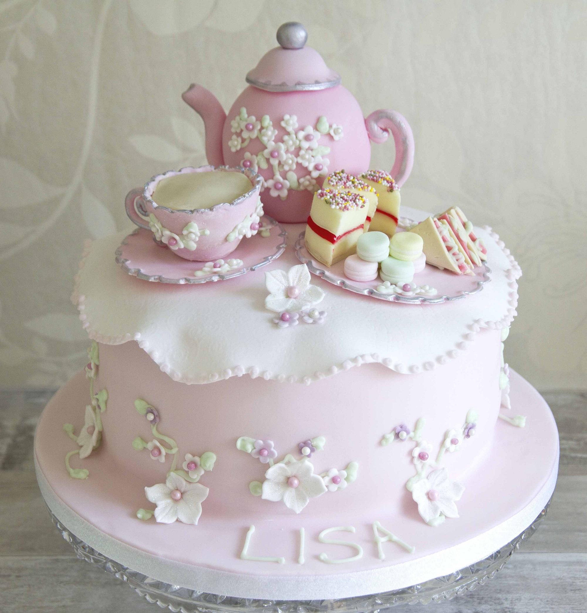 Tea Cake Designs