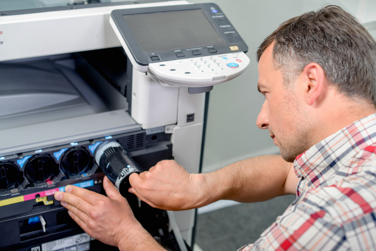 Changing printer ink